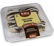 Katz Gluten Free Chocolate Buns, 10 Oz. (Case of 6)