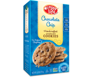 Enjoy Life Handcrafted Crunchy Cookies, Chocolate Chip, 6.3 Oz