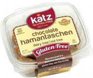 Katz Gluten Free Chocolate Hamantaschen (6 Pack)