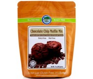 Authentic Foods Gluten Free Chocolate Chip Muffin Mix, 17 Ounce