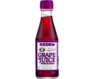 Kedem 100% Pure Kosher Concord Grape Juice, Mini 6.3 oz Bottle [Case of 24]