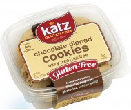 Katz Gluten Free Chocolate Dipped Cookie