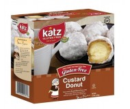 Katz Gluten Free Custard Doughnuts [Case of 6]