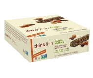 Think Thin Protein Nut Bars, Dark Chocolate Salted Caramel, 1.41 oz [10 Pack]