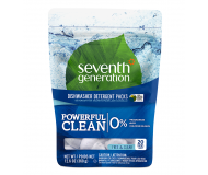 Seventh Generation Dishwasher Detergent Packs, Free & Clear, 12.6 Oz [12 Packs per Case]