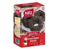 Katz Gluten Free Triple Chocolate Donuts, 14 oz (Case of 6)