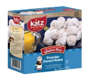 Katz Gluten Free Powdered Donut Holes [Case of 6]