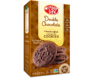 Enjoy Life Handcrafted Crunchy Cookies, Double Chocolate