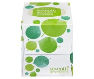 Seventh Generation 100% Recycled Facial Tissue, 2-Ply, 85 count, White Unscented [Case of 36 boxes)]