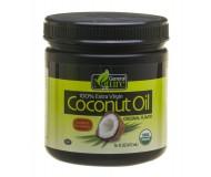 General Nature 100% Extra Virgin Coconut Oil, Original  (Case of 8)