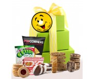 Smiles and Cheer! Get Well Gift Tower