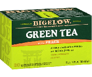 Bigelow Tea, Green Tea With Peach