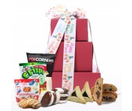Bright Box of Joy! Purim Gluten Free Gift Tower