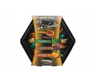 Honey Acres Dark Chocolate Honey Truffles Gift Box, Assorted, (19 pieces per box)