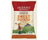 Jackson's Honest Sweet Potato Chips Made with Coconut Oil, 5 Oz (12 Pack)
