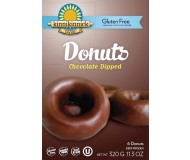 Kinnikinnick Chocolate Dipped Donuts