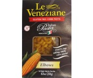 Le Veneziane Corn Pasta Elbows [Case of 12]