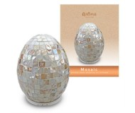 AromaSource Mosaic Mother of Pearl Handcrafted Luxury Essential Oil Diffuser