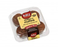 Katz Gluten Free Blueberry Muffins (Case of 6)