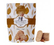 Nutterly Almond Cookie Snaps, 3.5 Oz [Case of 10]
