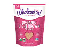 Wholesome Sweeteners, Light Brown Sugar