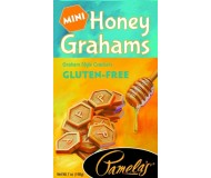 Pamela's Gluten Free Mini Grahams, Honey, 7 Oz [6 Pack]