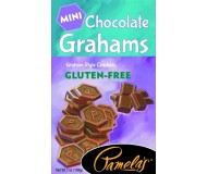 Pamela's Gluten Free Mini Grahams, Chocolate, 7 Oz [6 Pack]