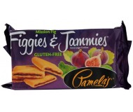Pamela's Gluten Free Figgies and Jammies Cookies, Mission Fig, 9 Oz Bag [6 Pack]