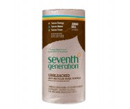 Seventh Generation 100% Recycled Paper Towels, Unbleached, 2-Ply, 120 Sheets (30 Rolls per case)
