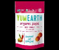 Yummy Earth Organic Lollipop Pouch, Hot Chili Pops