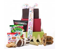 Purim Rainbow! Gluten Free Gift Tower