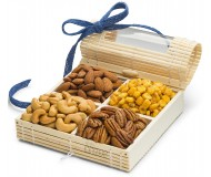 Simply Crave Nut Gifts, Gourmet Food Gift, Nuts Tray Gift Assortment, Classic (Small)