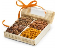 Simply Crave Nut Gifts, Gourmet Food Gift, Nuts Tray Gift Assortment, Sweet & Savory (Small)