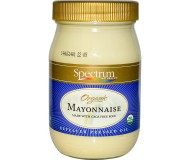 Spectrum Naturals Organic Soy Gluten Free Mayonnaise, 32 Oz [3 Pack]