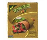 The Pure Wraps, Curry Coconut Wraps [12 pack]