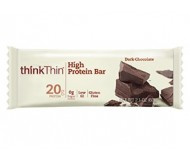 Think Thin High Protein Bars, Dark Chocolate, 2.1 oz [10 Pack]