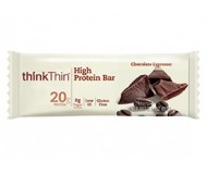 Think Thin High Protein Bars, Chocolate Espresso, 2.1 oz [10 Pack]