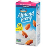 Almond Breeze, Vanilla, Unsweetened, 64 Oz