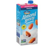 Almond Breeze, Vanilla, Unsweetened, 32 Oz