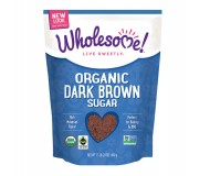 Wholesome Sweeteners, Dark Brown Sugar
