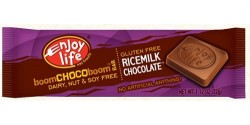 Enjoy Life Gluten Free Rice Milk Chocolate Bar, 1.12 Oz (24 Pack)