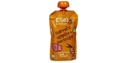 Ella's Kitchen Gluten Free Organic Baby Food - Carrots, Apples & Parsnips, 3.5 Oz (6 Pouches)