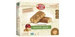 Enjoy Life Gluten Free Chewy Bar, Caramel Apple, 5 1-oz Bars (6 Boxes per Case)