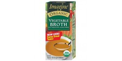 Imagine Foods  Gluten Free Organic Vegetable Broth, 32 Oz. (12 Pack)