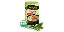 Imagine Foods Organic  Gluten Free Creamy Sweet Pea Soup, 32 Oz. (12 Pack)