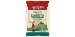 Jackson's Gluten Free Honest Organic Potato Chips Made with Coconut Oil, Sea Salt & VInegar, 5 Oz (12 Pack)