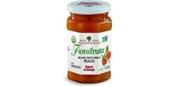 Fiordifrutta Gluten Free Organic Jam Spread, Peach, 8.82 OZ (Case of  6)