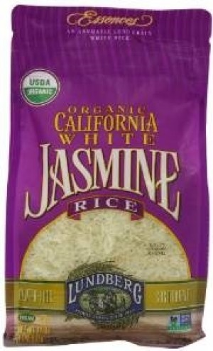 Lundberg Organic California White Jasmine Rice