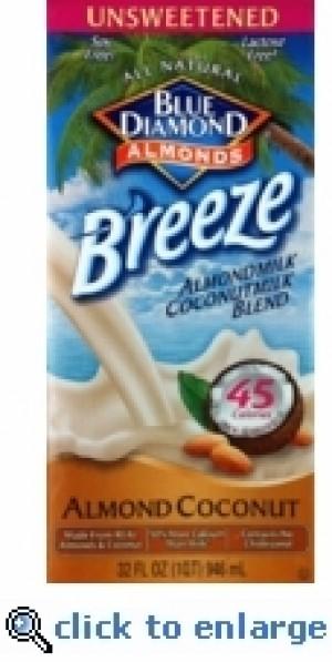 Almond Breeze Almond Coconut Blend, Original Unsweetened