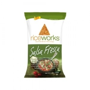 Rice Works Crisps, Salsa Fresca, 2 Oz.